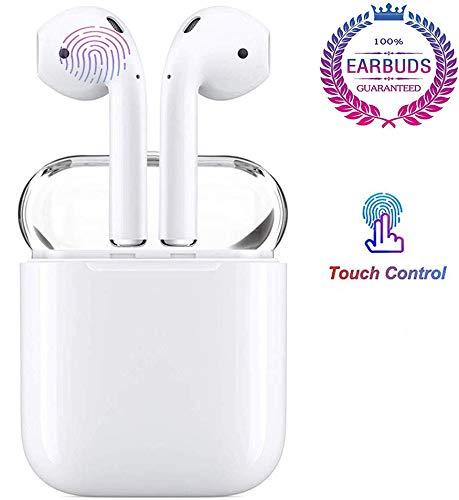 Cuffie Bluetooth Wireless, Auricolari Bluetooth 3D Stereo HD Cuffie Wireless con Microfono ncorporato Cuffie intrauricolari per Apple Airpods iOS Android/iPhone/Samsung/Huawei