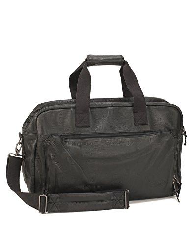 Eastpak, Porta abiti Uomo, Schwarz - (Black Leather) (Nero) - EK37294K