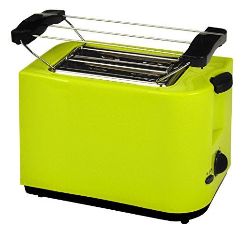 Efbe-Schott, 2-Scheiben Toaster, Brötchenaufsatz, Krümelschublade, 700 W, Zitronengrün, SC TO 5000 LEMONE