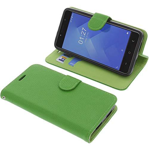 foto-kontor Tasche für M-Net Power 1 Book Style grün Schutz Hülle Buch