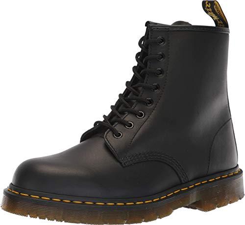 Dr. Martens Unisex 1460 Slip Resistant Service Boot, Black Industrial Full Grain, 14 US Women/13 US Men