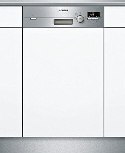 Siemens iQ100 SR515S03CE lavavajilla Semi-incorporado 9 cubiertos A+ - Lavavajillas (Semi-incorporado, Estrecho...