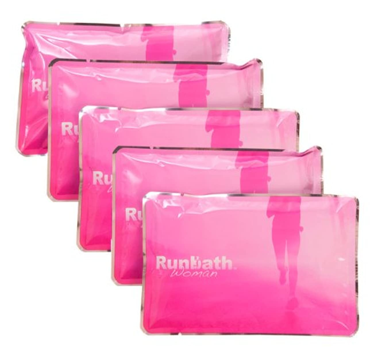 ロマンチック手荷物羨望Runbath Woman ランバスウーマン 5個セット