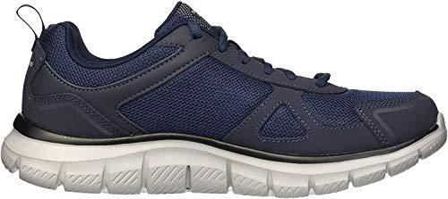 Skechers Track-scloric 52631-nvy, Zapatillas para Hombre, Azul (Navy 52631/Nvy), 43 EU