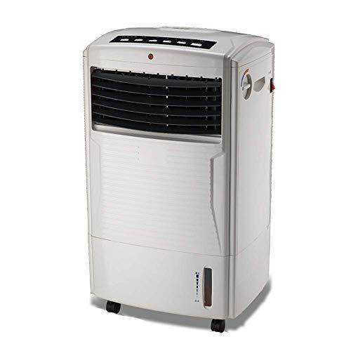 AC-Cooling Refroidissement Unités Réchauffeur de refroidisseur d'air évaporatif portable 4-en-1, fonctions de purification de l'humidificateur d'air, oscillation à 3 vitesses, réservoir d'eau minuteur