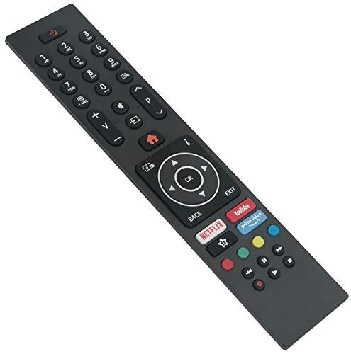 ALLIMITY RC43135P Fernbedienung Ersetzen für Finlux 4K XUHD TV 32-FHD-5620 22-FDMD-5160 39-FHE-5660 40-FFD-5660 43-FFC-5661 49-FFD-5660 50-FUD-7020 55-FUE-7060 75-FUD-8520