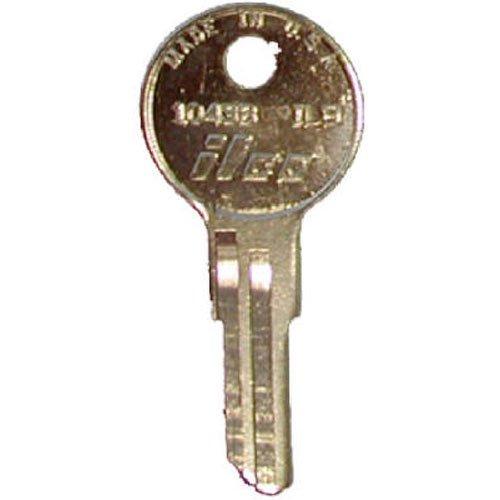KABA ILCO IL9-1043B Key Blank for Illinois Lockset, Equivalent to Illinois Key Blank 360
