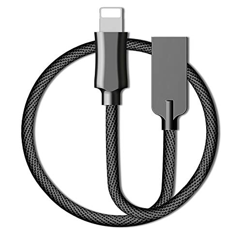 ELK Lightning Cables, Charger USB Fast Charging Cable Compatible Smart Auto Disconnect with LED Light for XS XS Max X XR 8 Plus 7 Plus 6S 6 Plus SE 5S 5 Ipad Ipod