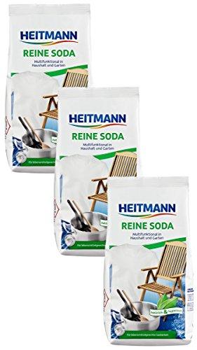 Heitmann 3602 Reine Soda 3 x 500 g