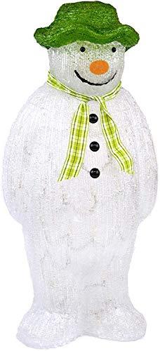 YöL The Snowman Acrylic Figure LED Lights Garden Outdoor Christmas...