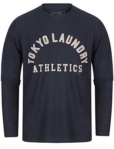 Tokyo Laundry - Maglietta a maniche lunghe Harper Cove' Iris nero. S