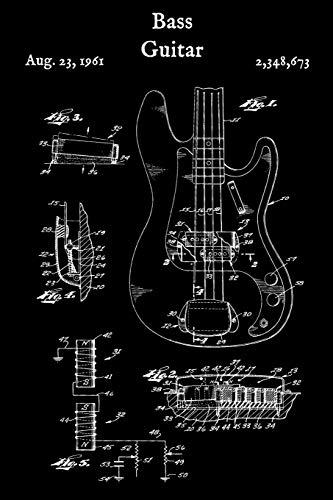 Bass Guitar: Tab Paper - Blank Sheet Music Guitar Tabs Book (Blank Bass Guitar Tabs)