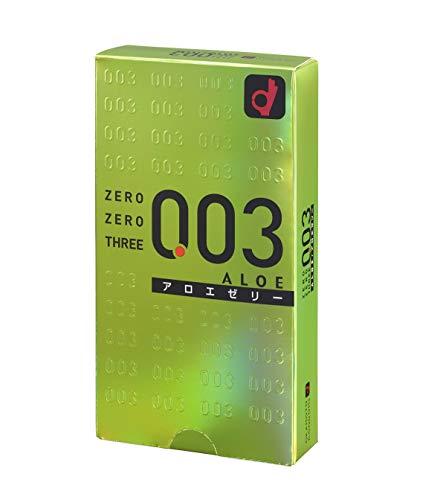 Okamoto 003 | Condoms | Aloe Jelly 10pc by Okamoto