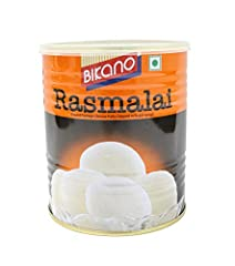 Bikano Rasmalai - Authentic Indian Sweet Bikano - BIkanervala Original Product of India Please follow instructions written on the package for best results.