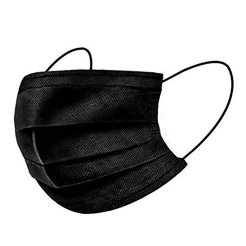 Ronege 50 PCS, 4 Capas de Material Perfectamente Bloqueado (Negro)