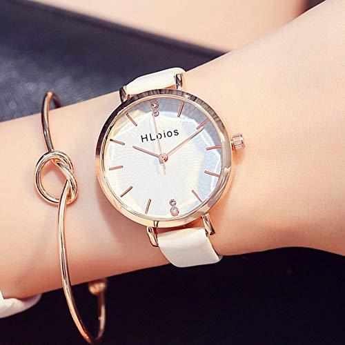 Diamond Glass Cutting Face Reloj Grande Edición Coreana Ocio Impermeable para alumnas
