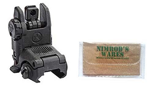 Nimrod's Wares Magpul M-B-U-S Gen2 Rear Flip-Up Back-Up Sight Micro Fiber Cloth