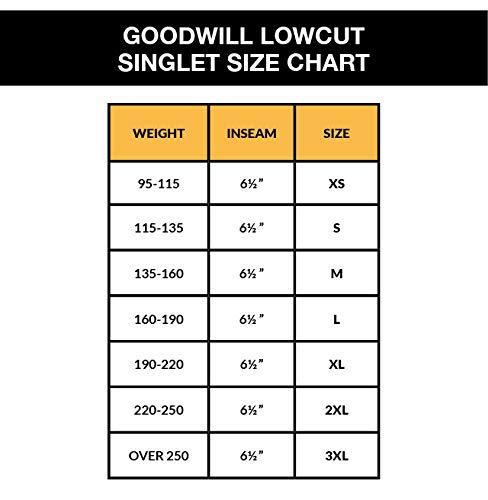 Matman Goodwill Low Cut Wrestling Singlet