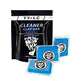 YY-LC Car Clay Bar 3X100g,Arcilla Limpiar,Puede Eliminar Fácilmente óxido, Asfalto, Pintura Boladora, Heces de Animales, los contaminantes adheridos a la Superficie del Coche