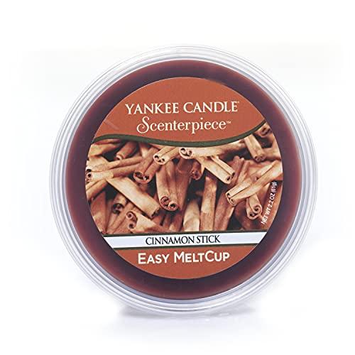 Yankee Candle Candela con Scenterpiece Melt Cups, Bastoncino di Cannella