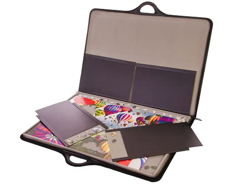 jigthings JIGSORT 1000 - Jigsaw Puzzle case for up to 1,000 Pieces