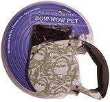 RETRACTABLE LEASH FOR DOGS UP TO 45lbs,1 Bow-Wow Hundeleine, einziehbar, Totenkopf- und gekreuzte...