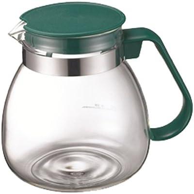 マックマー ティープッシュ用耐熱ガラスポット モスグリーン 900ml AA0022