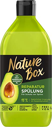 Nature Box Reparatur-Spülung Avocado-Öl, 385 ml