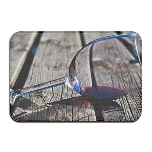 N\A Alfombrilla para el Suelo de la Puerta Alfombra Antideslizante Almohadilla para los pies Alfombrillas de absorción de Vino de Vidrio Entrada para el baño en casa Paso Limpio