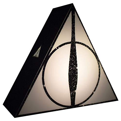 Harry Potter Lampada Deathly Hallows, Nero