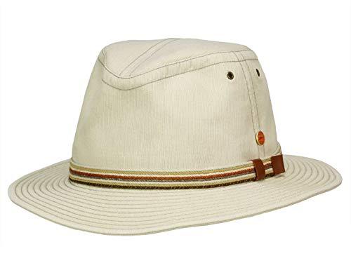 Mayser Menowin Traveller Outdoorhut UV-Schutz aus Baumwolle - Beige (2052) - 60,5 cm (60)