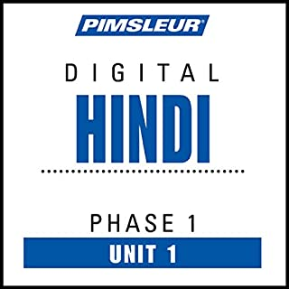 Hindi Phase 1, Unit 01 audiobook cover art