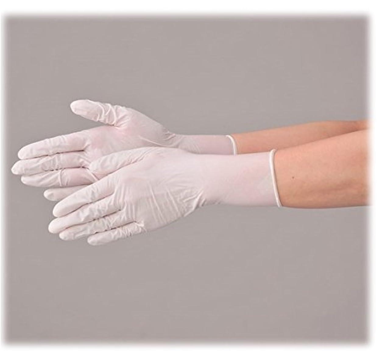 自治読むのスコア使い捨て 手袋 エブノ 535 ニトリルNEOライト ホワイト Lサイズ パウダーフリー 2ケース(100枚×60箱)