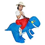 YLJYJ Party Kostüm Aufblasbares Kostüm Blau Aufblasbares Dinosaurier Kostüm Cosplay Halloween Party Kostüm Wettbewerbe Festivals Kostüme Gaint Su