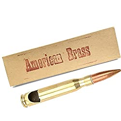 college student Christmas list american brass .50 caliber bottle opener