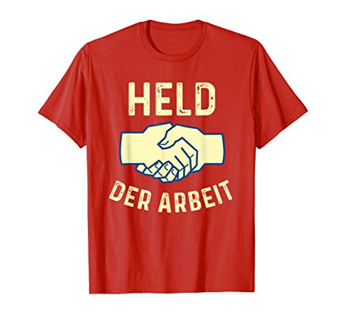 Held Der Arbeit | DDR | Ostalgie | Retro | Kommunist Fun T-Shirt
