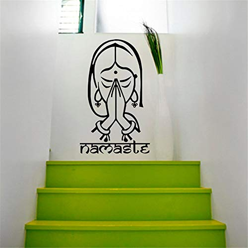 Stickers Muraux Stickers De Décoration De Maison De Yoga Indien De Yoga Indien