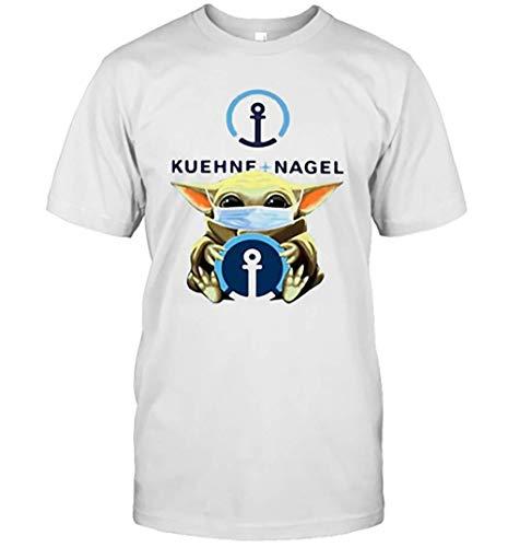 Baby Yoda Gesichtsmaske Hug Kuehne Nagel T-Shirt für Männer Frauen volle Größe