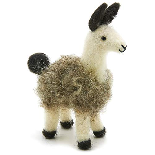 Dimensions Llama Felt Animals Needle Felting Craft Kit, 4'' x 6''