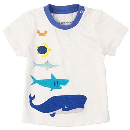 Sea World pur coton Infant Tee T-shirt pour bébé Blanc 73 cm (6–12 m)