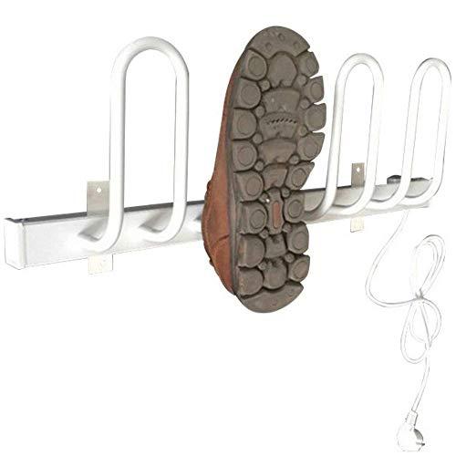 JHSHENGSHI Sèche-Chaussures électrique, Botte chauffante, sèche-Chaussures, Convient à Tous Les Types de Chaussures, 2 Paires de Chaussures Peuvent être séchées en même Temps (Longueur 610 mm)