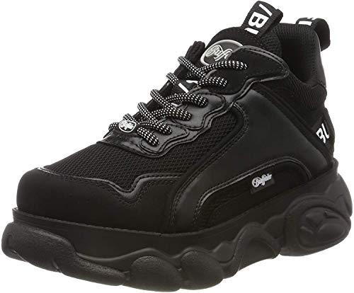 Buffalo Damen Corin Hohe Sneaker, Schwarz (Black 000), 38 EU