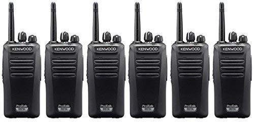 PROTALK KENWOOD TK3401D DIGITAL PMR446 way Radio mit Lizenz Synetix Boom Headset mit zwei leicht x6
