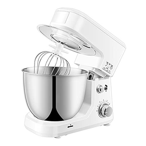 Frullatori Supporto Di Grande Capacità, Robot Da Cucina Elettrico Multifunzione Con Molti Accessori, Goditi Più Tempo Di Cottura (Color : White)