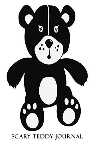Scary Teddy Journal: Scary Teddy Bear Notebook