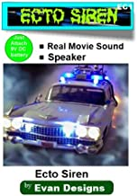 Ghostbusters Ecto-1 Siren For Diecast Models and R/C Cars - Runs on a 9 Volt Battery