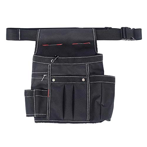 Goglor Werkzeugtasche aus Leder, 600D, strapazierfähig, für Zimmermanns-Werkzeuggürtel mit...