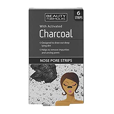 Beauty Formulas Nose Pore Strips with Activated Charcoal from Beauty Formulas