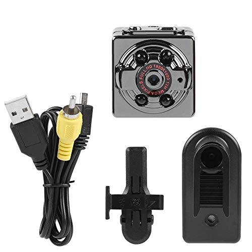 Auto DVR Kamera BiuZi 1 Set SQ8 Mini tragbare Sport DV Kamera Schwarz Kunststoff Full HD Infrarot Motion Kamera