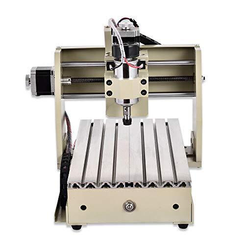 Fresadora CNC de 4 Ejes, 300W CNC Router Grabadora con